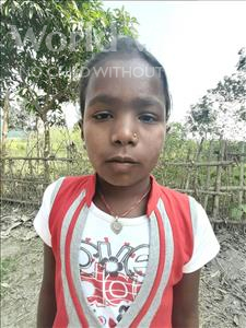 Choose a child to sponsor, like this little girl from Sarlahi, Manisha age 9