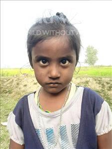 Choose a child to sponsor, like this little girl from Sarlahi, Sonali Kumari age 5