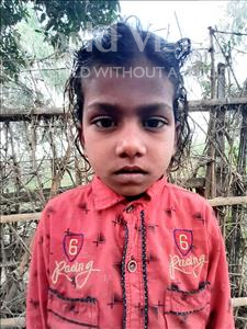 Choose a child to sponsor, like this little girl from Sarlahi, Sanju Kumari age 7