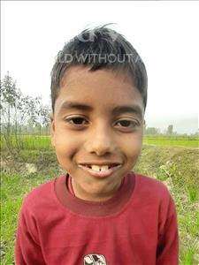 Choose a child to sponsor, like this little boy from Sarlahi, Nitesh Kumar age 9