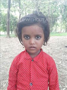 Choose a child to sponsor, like this little girl from Sarlahi, Sonalee age 2