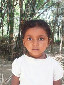 Choose a child to sponsor, like this little girl from Sarlahi, Shristi Kumari age 2