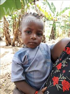 Choose a child to sponsor, like this little girl from Imperi, Mariana age 3