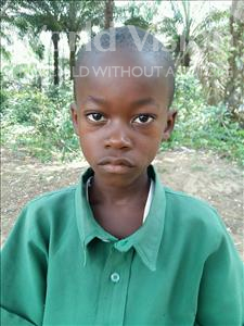Choose a child to sponsor, like this little boy from Jaiama Bongor, Sam age 12