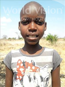 Choose a child to sponsor, like this little girl from Kilimatinde, Happy Dino age 11