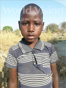 Godfrey Daniel, aged 7, from Tanzania, is hoping for a World Vision sponsor