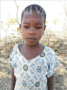 Choose a child to sponsor, like this little girl from Kilimatinde, Jessica Mange age 7