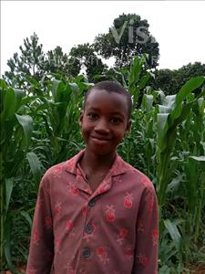Mugaga, aged 10, from Uganda, is hoping for a World Vision sponsor
