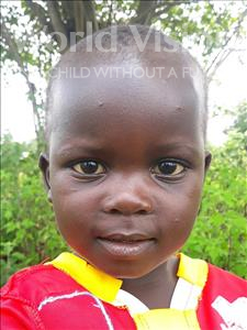 Choose a child to sponsor, like this little girl from Busitema, Everlyne age 3
