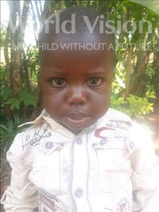 Choose a child to sponsor, like this little boy from Busitema, Manase Macho age 2