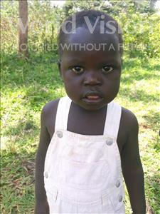 Choose a child to sponsor, like this little boy from Busitema, George Wilson age 3