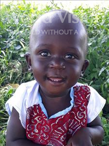 Choose a child to sponsor, like this little girl from Busitema, Vivian age 2