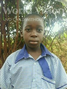 Ivan, aged 10, from Uganda, is hoping for a World Vision sponsor