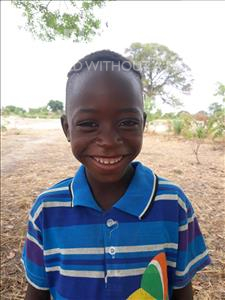Choose a child to sponsor, like this little boy from Keembe, Folo age 5