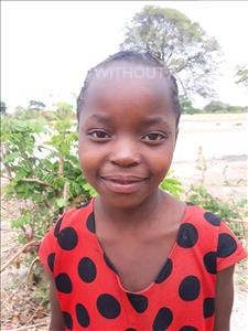 Choose a child to sponsor, like this little girl from Keembe, Rihana age 7
