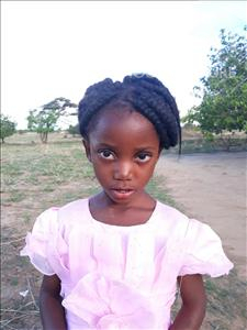 Choose a child to sponsor, like this little girl from Keembe, Shumilai age 4