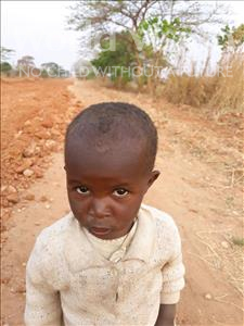 Choose a child to sponsor, like this little girl from Keembe, Georginah age 2