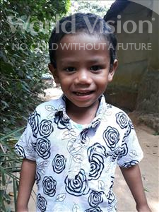 Choose a child to sponsor, like this little boy from Ghoraghat, Piyaro Lufa age 3