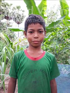 Choose a child to sponsor, like this little boy from Soutr Nikom, Sophorn age 10
