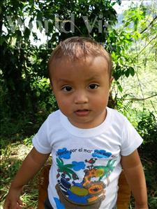 Choose a child to sponsor, like this little boy from Maya, Esdras Ruby age 2