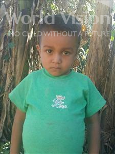 Choose a child to sponsor, like this little boy from Maya, Noel Adalid age 5
