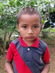 Choose a child to sponsor, like this little boy from Maya, Gerlin Isaac age 5