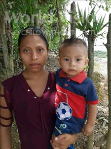Choose a child to sponsor, like this little boy from Maya, Josue Usiel age 1
