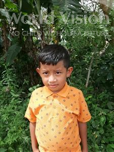 Choose a child to sponsor, like this little boy from Maya, Juan Carlos age 7