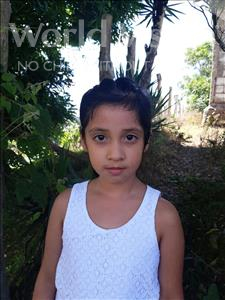 Choose a child to sponsor, like this little girl from Maya, Alix Elena age 7