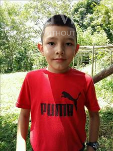 Choose a child to sponsor, like this little boy from Maya, Edgar Eduarli age 7