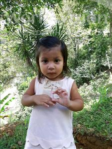 Choose a child to sponsor, like this little girl from Maya, Estephanie Camila age 1