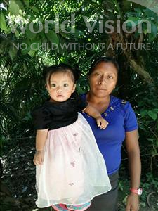 Choose a child to sponsor, like this little girl from Maya, Maryuri Aracely age 1
