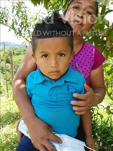 Choose a child to sponsor, like this little boy from Maya, Victor Ariel age 4