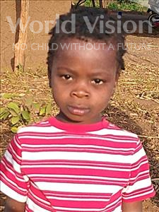 Choose a child to sponsor, like this little girl from Kazuzo, Idelsa Paulo age 4