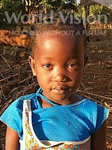 Choose a child to sponsor, like this little girl from Kazuzo, Ofelia Francisco age 6