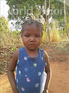 Choose a child to sponsor, like this little girl from Kazuzo, Eliana Gervasio age 4