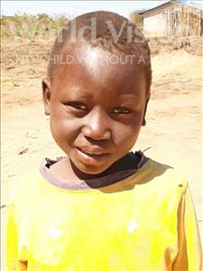 Choose a child to sponsor, like this little boy from Kazuzo, Isaquiel Mateus age 7