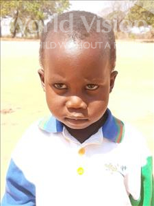 Choose a child to sponsor, like this little boy from Kazuzo, Jafate Manuel age 3