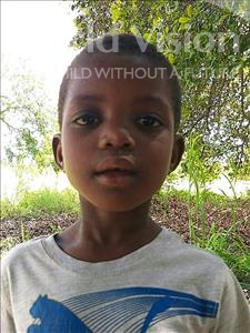 Choose a child to sponsor, like this little girl from Namaita, Leticia Dos Santos age 8