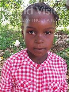 Assima Ali, aged 6, from Mozambique, is hoping for a World Vision sponsor