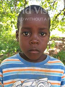 Choose a child to sponsor, like this little boy from Namaita, Constantino Joao age 6