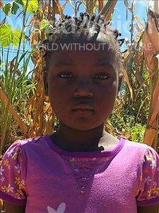 Choose a child to sponsor, like this little girl from Namaita, Eufrasia Jorge age 6