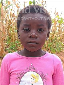 Choose a child to sponsor, like this little girl from Namaita, Ilenia age 7