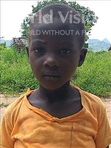 Choose a child to sponsor, like this little girl from Pheone, Estilosa Elias age 7