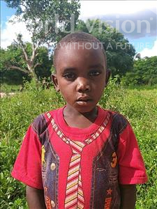 Choose a child to sponsor, like this little boy from Pheone, Baptista age 7