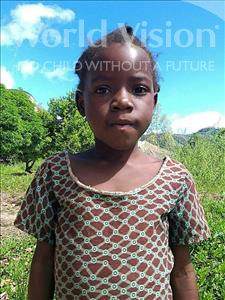 Choose a child to sponsor, like this little girl from Pheone, Felicia Xavier age 7