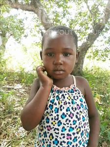 Choose a child to sponsor, like this little girl from Pheone, Setonia age 6