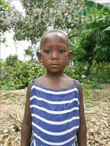 Choose a child to sponsor, like this little girl from Pheone, Cristina age 7