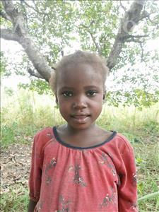 Choose a child to sponsor, like this little girl from Pheone, Estalia Januario age 5