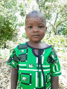 Choose a child to sponsor, like this little girl from Pheone, Belucha Felex Antonio age 6
